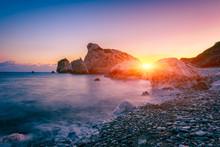 Aphrodite's Rock Beach, Petra ...