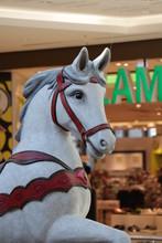 Horses On Carousel