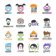 Geek Logotypes. Identity For S...