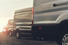 Vans Of Delivery Service