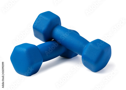 Fotografia Two of dumbbells