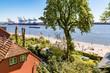 Wohnhaus, Övelgönne, Strand, Elbe, Hamburg
