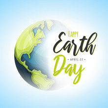 World Earth Day Background/ Il...