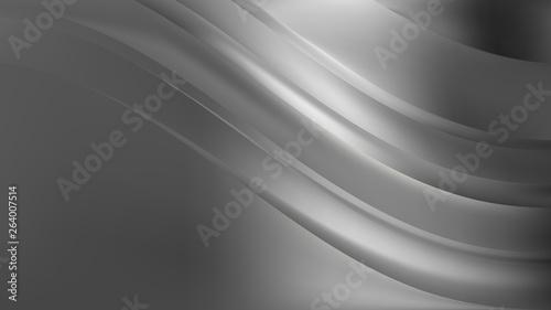 Papiers peints Tunnel Abstract Dark Grey Background Design