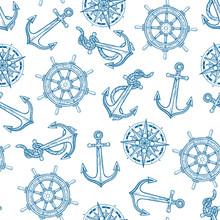 Seamless Maritime Symbols