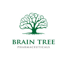 Brain And Tree Concept Logo Design