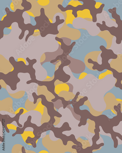 image about Camo Printable Paper identified as Camouflage habit.Seamless military services wallpaper.Armed service style