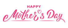 Happy Mother's Day Poster With...