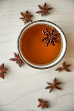 Delicious Hot Infusion Of Star Anise