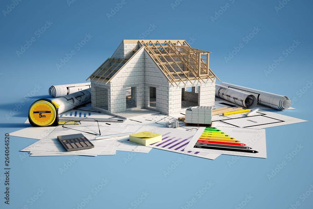 Fototapeta Construction industry