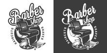 Vintage Monochrome Barbershop ...