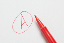 Grade A Letter A