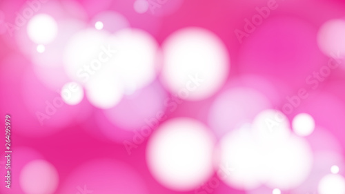 Fototapety, obrazy: Abstract Pink and White Defocused Lights Background