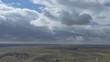 Farmlands under dramatic clouds. England.