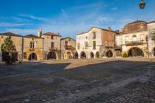 The Village Of Monpazier, In T...
