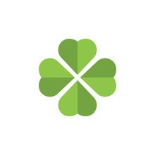 Clover Leaf Clip Art Graphic Design Template