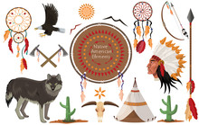 Native American Indian Clip Art Collections