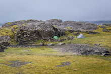 Wild Camping In Iceland, Two T...