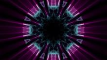 Ornamental Light Rays Kaleidoscope Psychedelic Pattern Illustration Background New Holiday Native Colorful Universal Oyful Music Stock Image