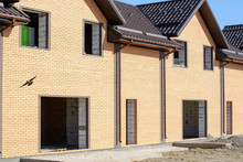 Newly Built Homes In A Residential Estate