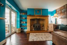 Interior Vibrant Living Space