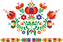 Folk Ornament From Eastern Slovakia