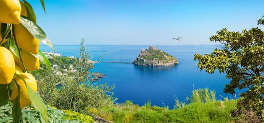 Ischia Island, Aragonese Castle, Italy