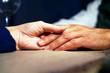 Hands together, love