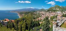 Taormina And Mt. Etna Volcano ...
