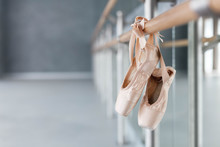 Pointe Shoes Hang On Ballet Ba...