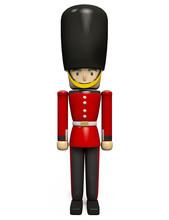 Queen's Guard Wearing Buckingh...