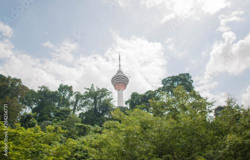 Photo KL Tower in Kuala Lumpur, Malaysia.
