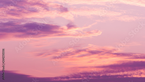 Canvas Prints Heaven Twilight violet sky background with Colorful sky in the nature