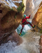 Canyoneer In Action