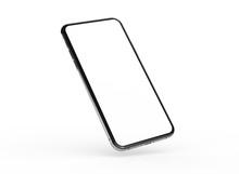 Phone 3d Illustration Mockup S...