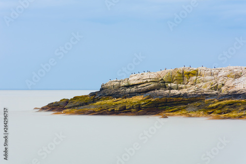 Fotografija maine rocky coast