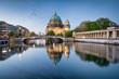 canvas print picture - Museumsinsel und Berliner Dom in Berlin, Deutschland