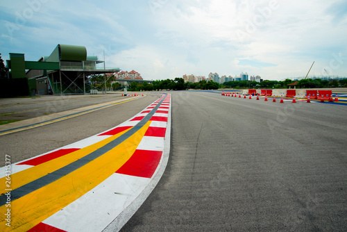 Race Course Pavement