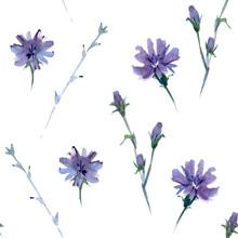 Seamless Watercolor Pattern In...