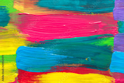 Fototapety, obrazy: Abstract art background. Hand painted.