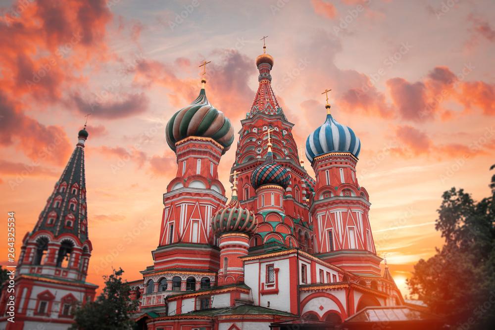 Fototapety, obrazy: St. Basil's Cathedral