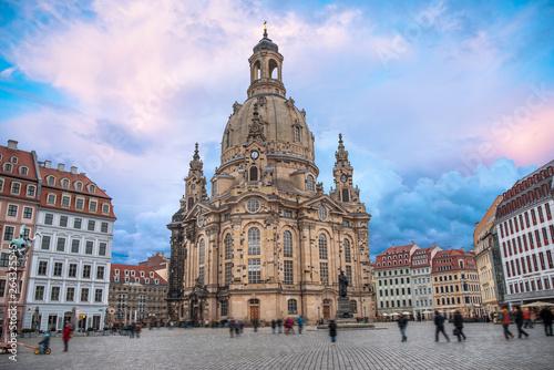 Dresden in Germany. - 264325545