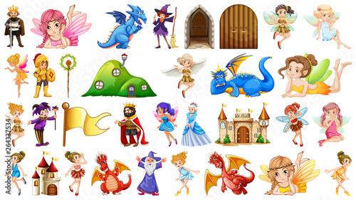 Foto op Plexiglas Kids large fantasy object set