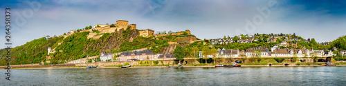 Fototapeta  Festung Ehrenbreitstein in Koblenz am Rhein