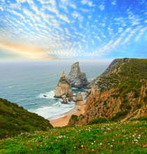 Sunset Atlantic Coast View, Portugal