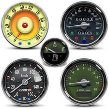 Vector Automotive Speedometers