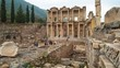 Amphitheatre of Ephesus in Selcuk, Izmir province Turkey.