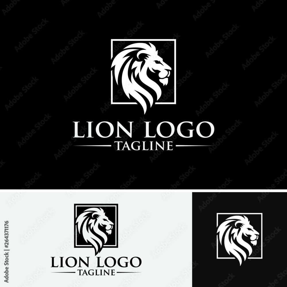 Fototapeta Lion Logo Images
