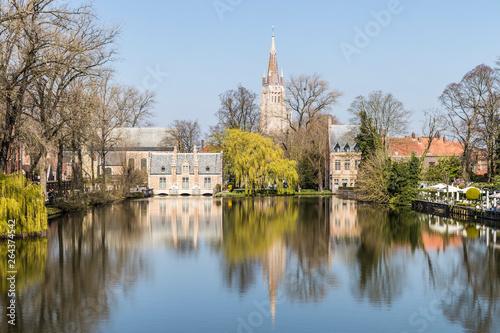 Deurstickers Rotterdam Bruges, Belgium