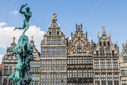 Poster Antwerp Anversa, Belgium